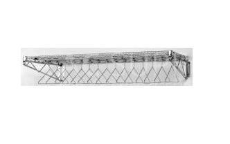 Appendiabiti in acciaio inox da parete ac supply for Appendini da muro